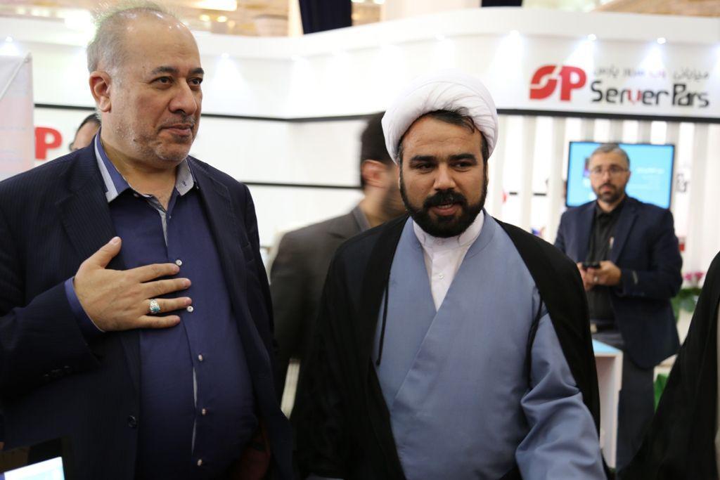 حضور دکتر صلاحی. رئیس سازمان فرهنگی هنری شهرداری تهران
