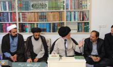 دیدار مدیران و کارشناسان مرکز ملی با آیت الله علوی گرگانی