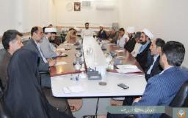 جلسه با معاون استاندار در امور زیارت